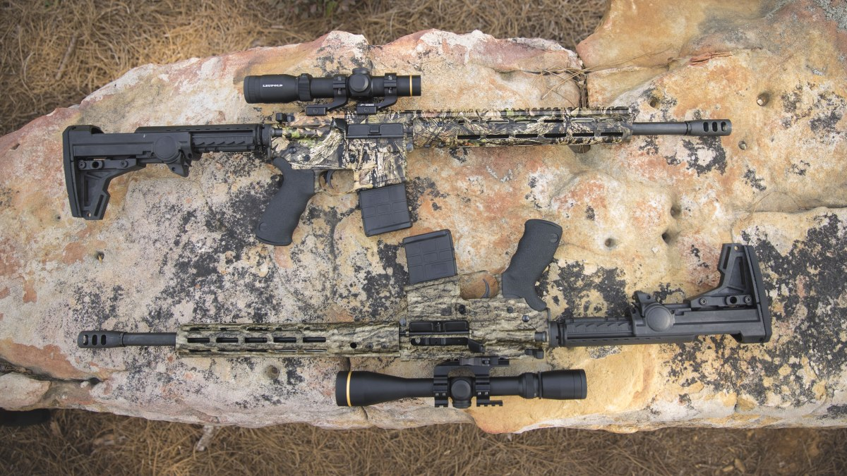 Deep South Precision Inc. Offers Mossy Oak Patterns On Its Modern Sporting Rifles