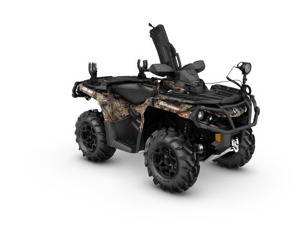 2017 Outlander Mossy Oak Hunting Edition 1000R 3-4 front