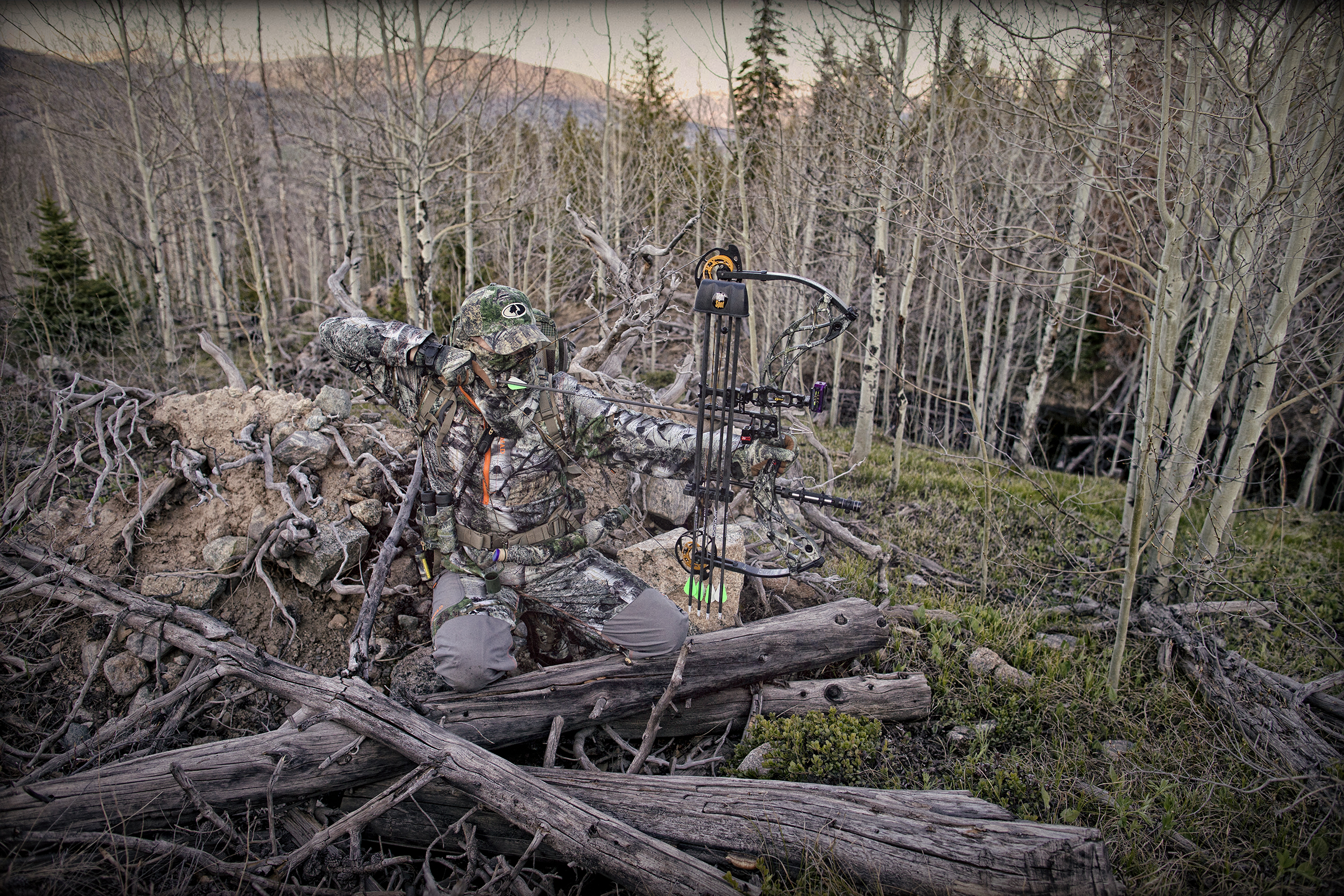 Mossy Oak 174 Introduces Mountain Country Pattern Rack Camp