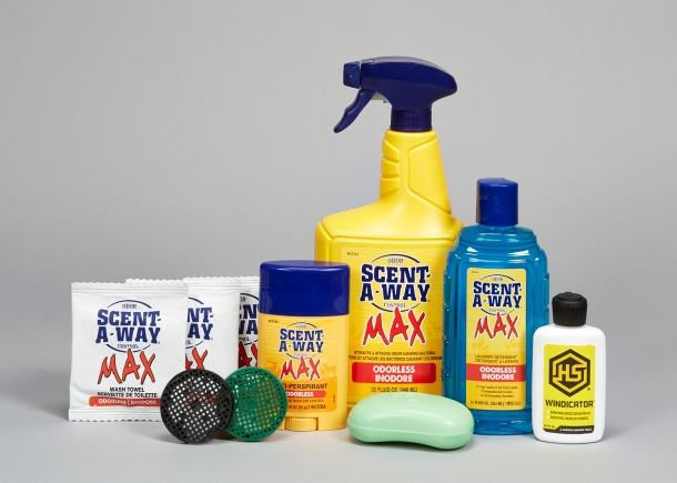 Scent-a-Way 10-piece kit