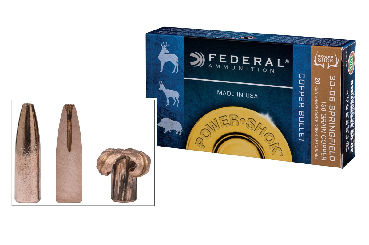 Federal Ammunition Introduces Lead-Free Power-Shok Copper