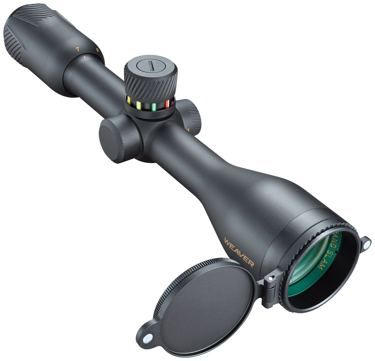 Weaver Grand Slam Riflescope with MultiStop Turret Makes Long Range Shooting Easier Than Ever Before