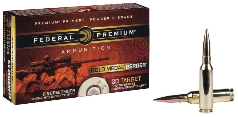 Federal Premium Gold Medal Berger Bullet