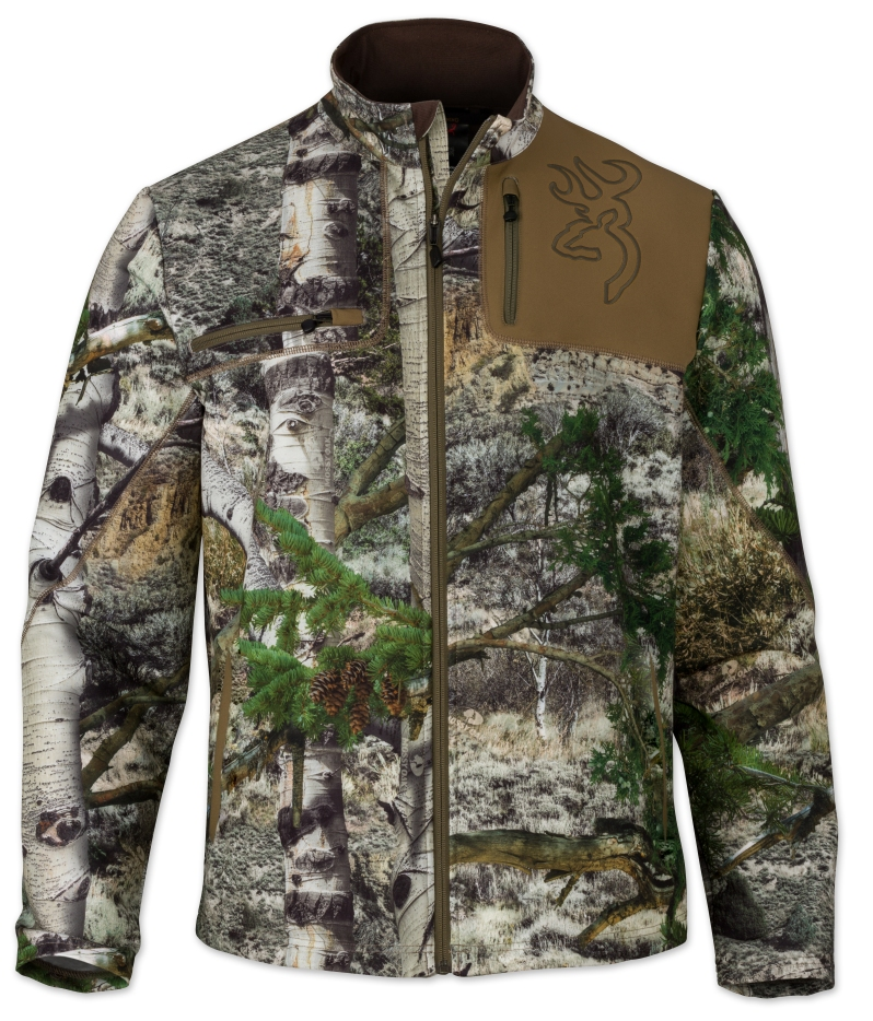 Browning Hells Canyon Mens Mercury Jacket in MO Mountain Country