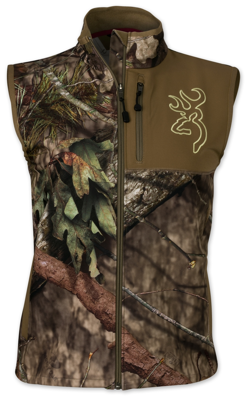 Browning Hells Canyon Womens Mercury Vest in MOBUC