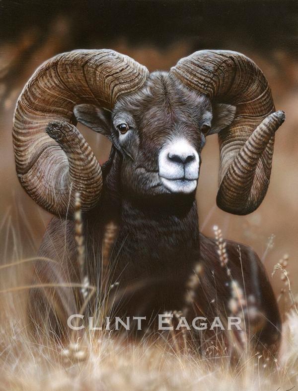 Clint Eagar Painting
