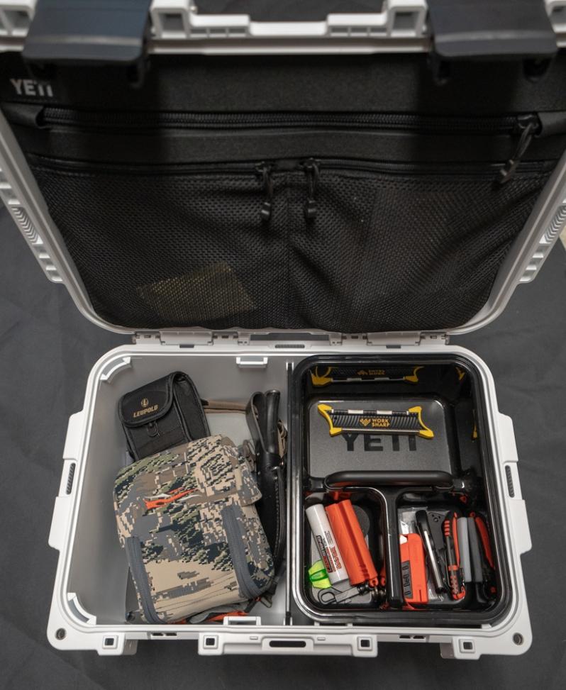 YETI hunting box