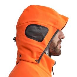 Sitka Stratus orange hoodie