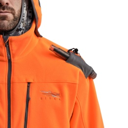 Sitka Stratus orange jacket